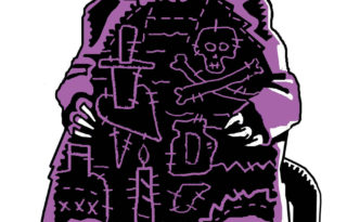 4-lynwood-kreneck-rat-in-patchwork-robe-h-17-in-x-w-11-in-2006
